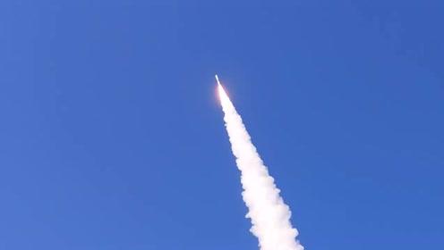 震撼!快舟一号甲火箭成功发射