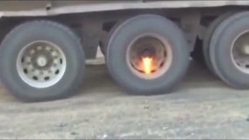 """大哥快停下,""""轴承""""快要起火了!"""