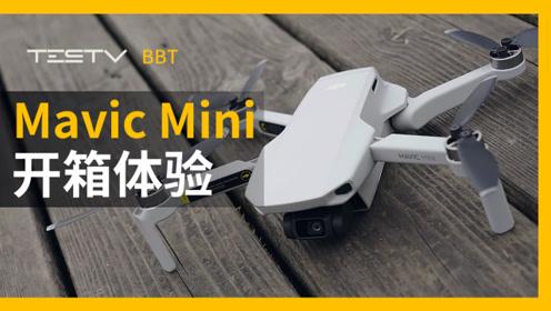 大疆Mavic Mini开箱试飞体验
