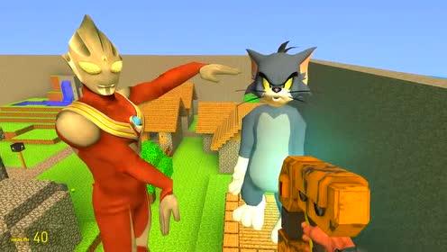 迪迦奥特曼跟汤姆猫比身高