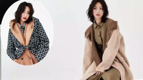 佟丽娅写真造型曝光 5套穿搭演绎秋冬风情 自信高级美到认不出