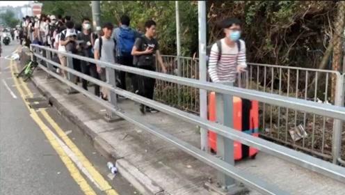 在港台湾学生紧急返回 预计有超过280人返台