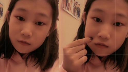 小沈阳13岁女儿晒自拍,面容精致越来越漂亮,还涂指甲油