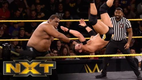 【NXT534期】基思里单挑塞德里克斯特朗 芬巴洛尔乱入引发混乱