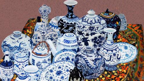 环卫工发现青花瓷墓,出土了2000个青花瓷碗,专家却说可惜了