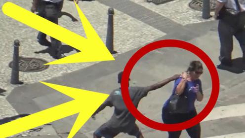 巴西街头疯狂劫匪,盯上的每个人都逃不掉,简直是太嚣张!