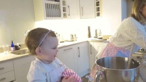 Emilia和妈妈的日常,聪明妈妈教出优秀女儿!