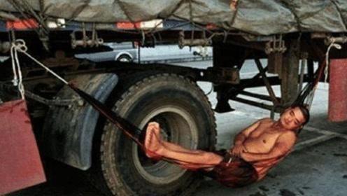 为啥大货车司机再累都不愿意去服务区休息?网友:他们敢去吗?