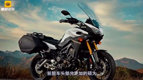 雅马哈又一款三缸摩托!双LED大灯+ABS+TCS,847CC引擎