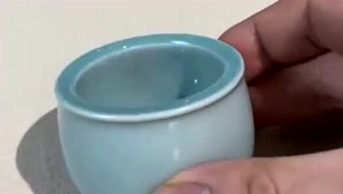 一个奇葩的小杯子,打开的那一瞬间,网友:这是什么玩意儿!