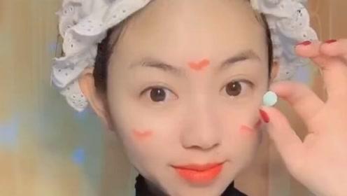 一颗糖豆轻轻松松就能洗脸,这也太神奇了,卸妆也省了!