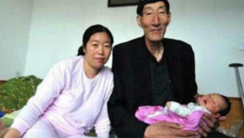 """中国第一""""巨人"""",不听医生劝阻生下一子,如今孩子长成哪样?"""