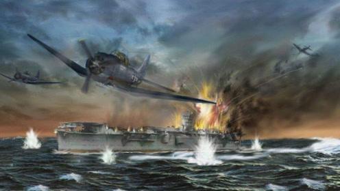 决战中途岛!日军损失4艘航空母舰,胜负决定在300秒之间