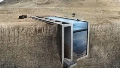 美国一对夫妻花20年的时间,在悬崖上凿出一栋豪宅,如今收购做酒店!