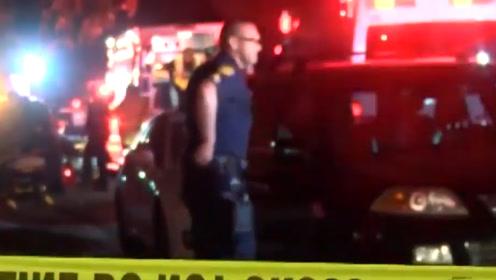 美国加州一家庭在聚会时发生枪击事件 已致至少9人被击中多人死亡