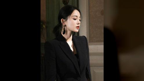 古力娜扎精美图集,干练时尚靓丽动人,魅力十足