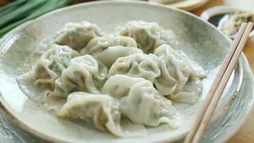 长这么大没吃过这么美味的饺子,饭店都买不到,学会了家人有口服