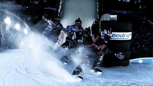 寒风呼啸,冰面上的劲爆能量来袭!这就是最刺激的冬日比赛!