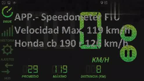 本田CB190R极速测试,这速度啥水平?