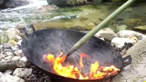 新买的铁锅这样子处理,洗得特别干净