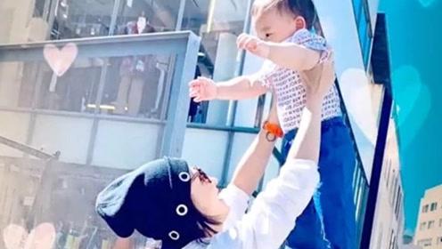 张柏芝为三胎宝宝庆生首度公开正面照,一岁的Marcus长这样