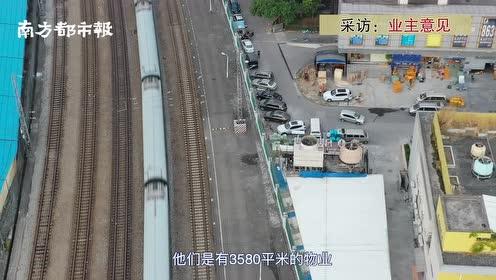 广州大型物流中转站违建十年,卸货噪音深夜扰人,居民吐槽没法睡