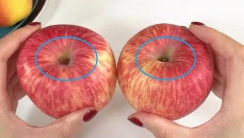 """吃十几年才知道,买苹果有诀窍,死记这些""""小机关"""",个个都甜"""