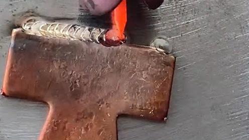 不多见的焊接工艺!积累了多年的经验,才焊出这样的效果