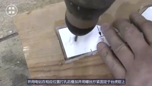 牛人自制玻璃切割神器,比玻璃刀还要好用,这构思真的是佩服
