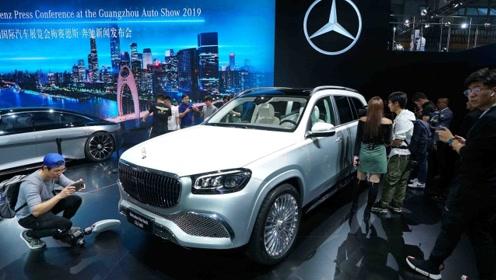 2019广州车展:预测250万别嫌贵 实拍迈巴赫GLS 600