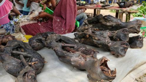 """非洲这种""""残忍""""食物,中国吃货看后认怂,表示:我们不敢吃!"""