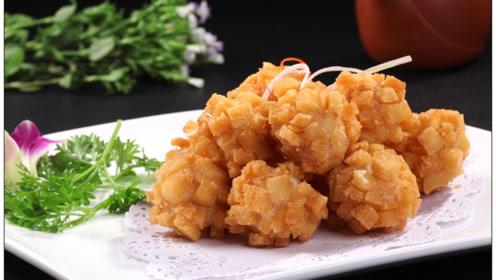 做萝卜丸子时,用淀粉大错特错!大厨:这才是正确做法,香酥入味