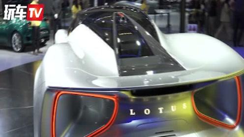 广州车展:动力2000匹的超跑怪兽!实拍路特斯Evija