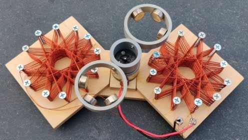 磁发电小装置,是不是很神奇啊!