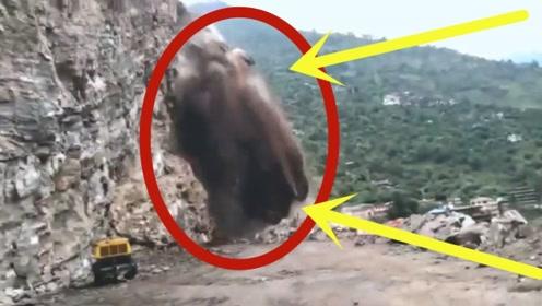 男子正要过山路,突然感到不对劲,下秒镜头记录恐怖瞬间!