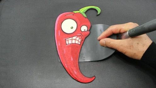 当画家不画画,改摊煎饼了,会发生什么神奇的事情?