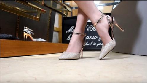 高跟鞋开箱:穿上它大大提升了魅力,没有哪个女人不喜欢!
