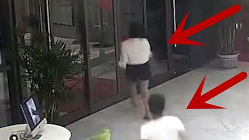 女子醉酒后被男子带进酒店大厅,女前台如此应对,真机智!