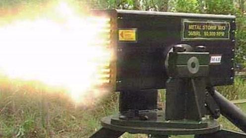 世界枪械史上最强火力!1000米内打哪碎哪!每分钟射100万发子弹