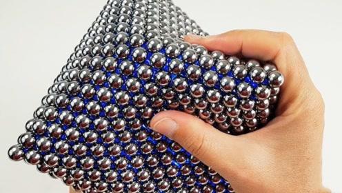 小伙用1580个小磁珠,打造一个八面巴克球,结果令人不可思议!