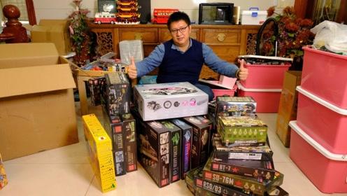 一次性开箱20多盒乐高玩具,又有什么好玩的积木在等着我们呢?