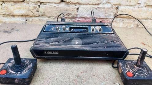 一款1970年的游戏机你肯定第一次见,重新修复看看都有哪些游戏