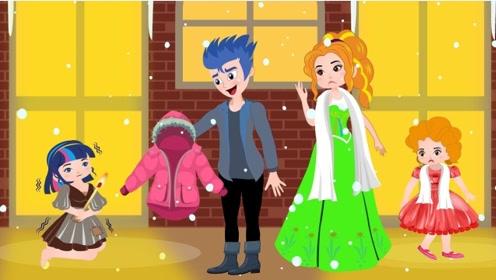 善良的姑娘,路上偶遇小乞丐,不仅为她添衣还邀她来家玩耍!