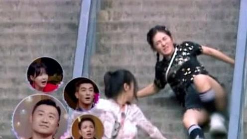 高以翔出事浙江卫视被围攻,看看谢娜摔倒时,节目是怎么做的