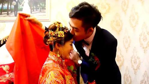 广西一空姐出嫁,婚礼就像拍电影,新郎又帅又有钱让人羡慕!