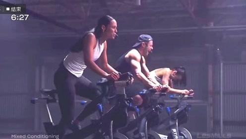 sprint 18高强度间歇单车 冲刺单车 视频音乐波形图