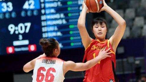 她是中国女篮的女神!身高2米01重206斤,男友18岁在CBA打球