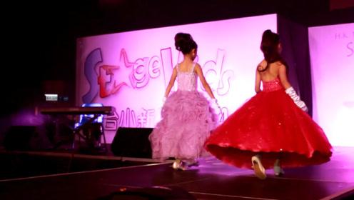 泰国6岁女孩选美夺冠,一双大眼睛灵动有神,简直就是天生的模特!