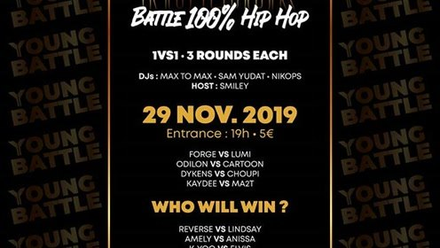 法国Hiphop赛事Battle No Luck 2019决赛