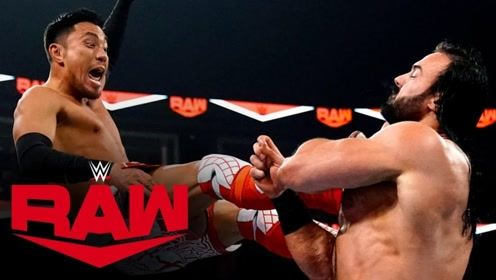 【RAW1384期】麦金泰尔大打小横扫户泽阳 赛后叫嚣和毒蛇面对面
